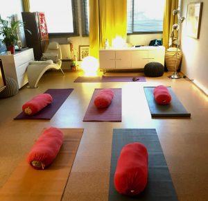 ambiance yoga entreprise